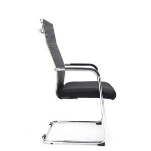 CHAISE DE BUREAU Chaise pour visiteur fauteuil de bureau avec accou