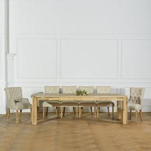 TABLE À MANGER SEULE Table à rallonge Enzo 260 cm soit 200 + 60 cm Colo