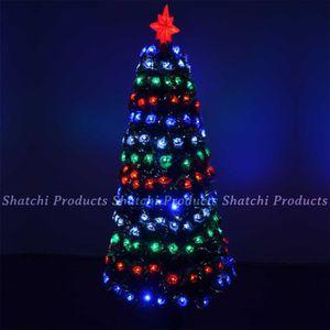 Nouveau chirstmas 45cm fibre optique x mas arbre de lumière à piles couleur multi jusqu/'
