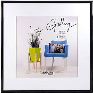 CADRE PHOTO Cadre 50x50 Noir Gallery