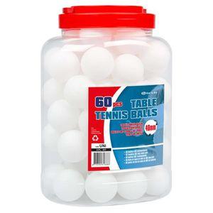 BALLE TENNIS DE TABLE Get & Go Balles de ping-pong 60 pcs ABS Blanc