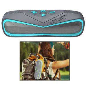 ENCEINTE NOMADE Mini Enceinte Portable Etanche Bluetooth Lecteur C