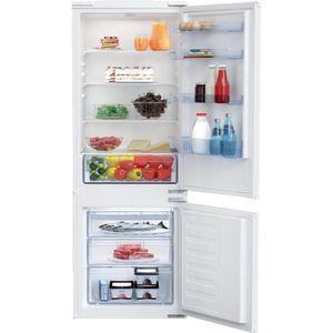 RÉFRIGÉRATEUR CLASSIQUE Beko Réfrigérateur congélateur encastrable BCSA285