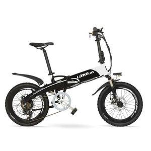 VTC Nouveau, marque Lankeleisi, vélo électrique pliant
