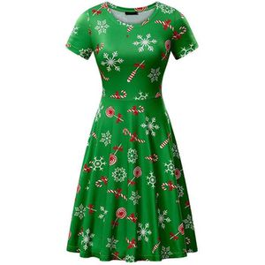 ROBE Robe de Noël Femmes Père Noël Cadeaux de Noël Robe