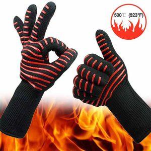 Four Double Gant Moufles-Pot Protection Chaleur Résistant aux taches Revêtement NEUF