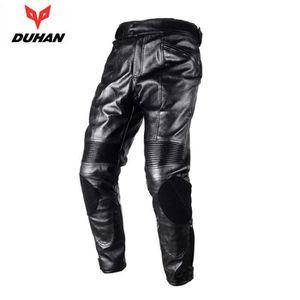 SLIDER Pantalon moto DUHAN Pantalon PU imperméable coupe-
