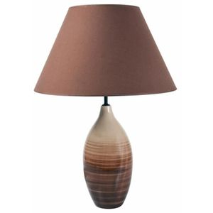 lampe a poser taupe achat vente lampe a poser taupe pas cher cdiscount. Black Bedroom Furniture Sets. Home Design Ideas