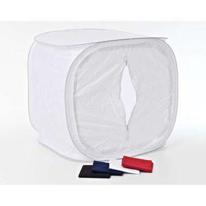 TENTE DE CAMPING Tente Lumière coloris blanc - 80 x 80 cm