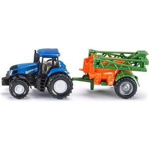 VOITURE - CAMION SIKU Tracteur New Holland Avec Épandeur 1/64ème -