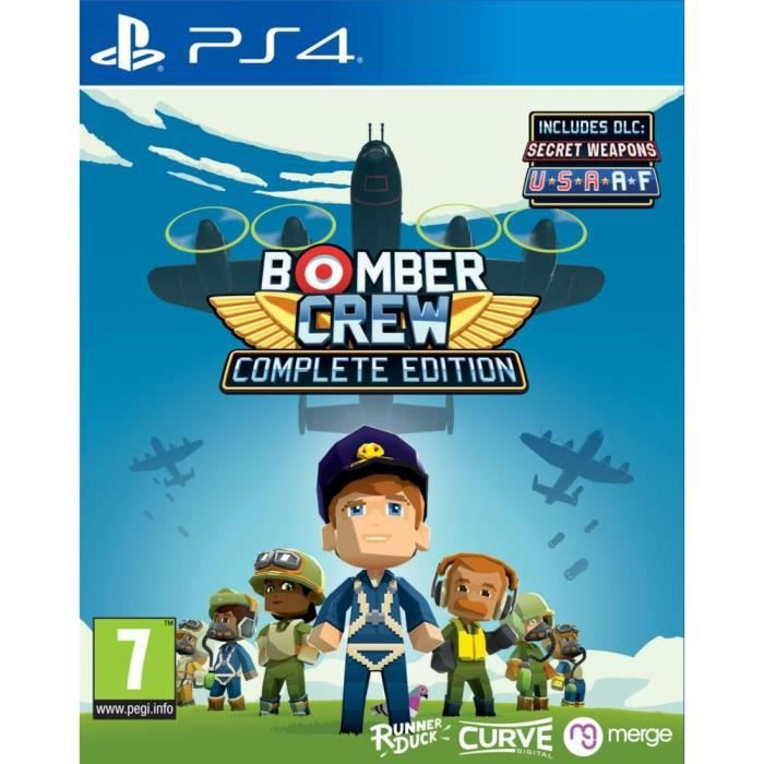 Bomber Crew Complete Edition Jeu PS4