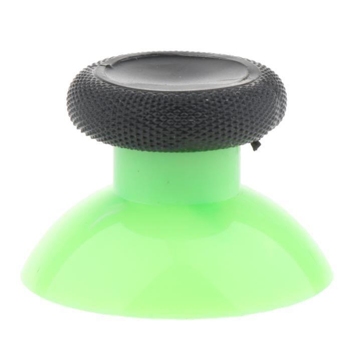 2 X Couvre-Pouce Thumb Grip Thumbstick Pour Microsoft Xbox One Slim S Vert + Gris