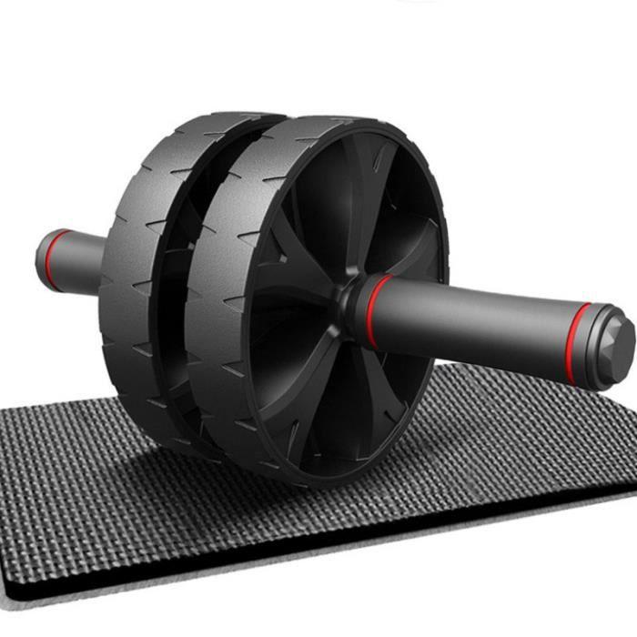 HAND GRIP Mixte - Rouleau de sport abdominal à deux roues silencieux - Noir NH™