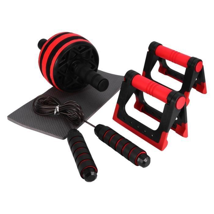 Ensemble pratique durable de poussoirs de kit de rouleau de roue AB sans bruit Pro TAPIS DE COURSE