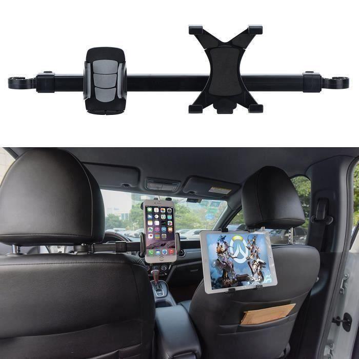 Support tablette pour voiture,Support Tablette Voiture, Têtière Back Seat Tablet Car Mount 360 Support rotatif P13971