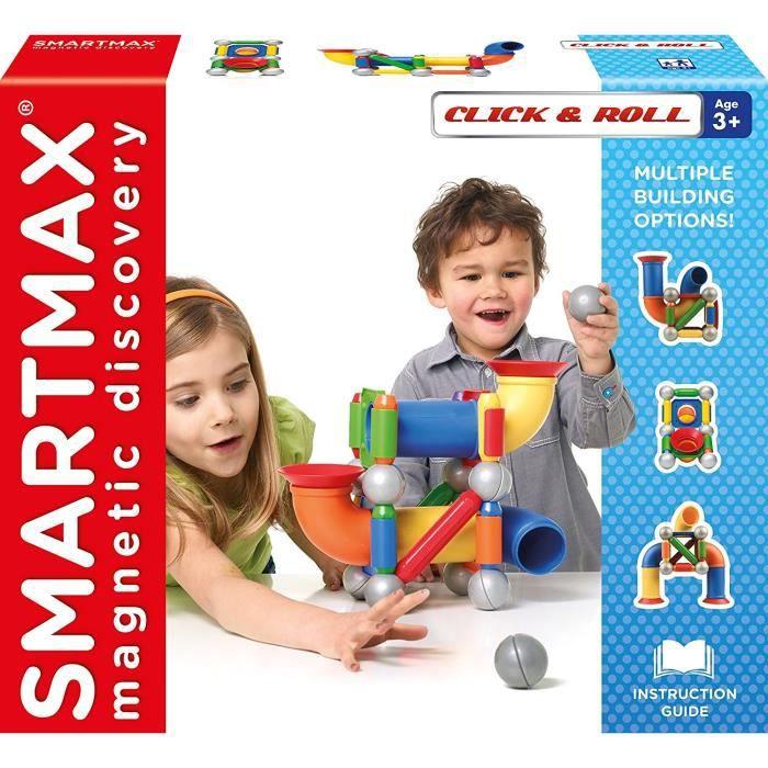 Jeux de construction SMARTMAX- Jeu de Construction aimantée, SMX 404 51977