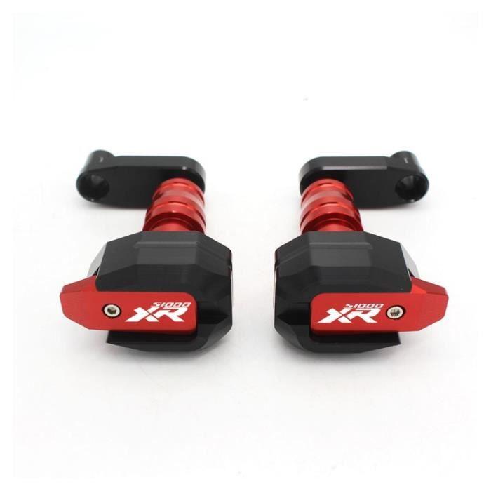 Protege Cadre,Cadre de Protection contre les chutes pour moto BMW S1000XR, S1000 XR S 1000XR, S 1000 XR, Protection de - Type red