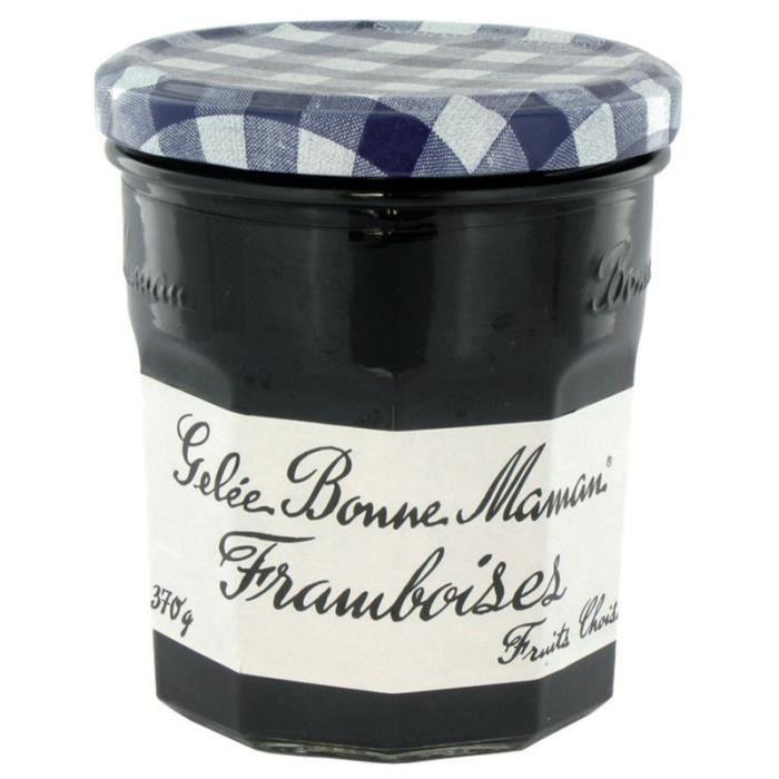 BONNE MAMAN Gelée Framboises en bocal - 370 g