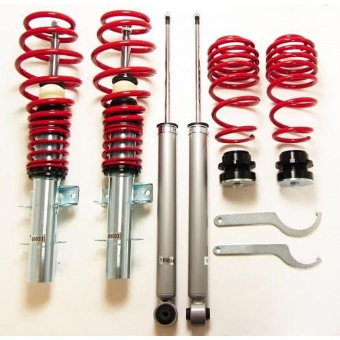 Kit suspension combiné fileté SEAT Ibiza , Cordoba type 6L de 2002 a 2008 GF200159 voir descriptif pour motorisation