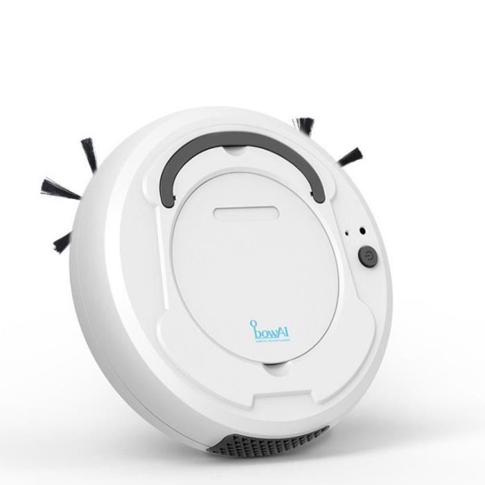 Tod-1800Pa Smart Floor Cleaner Smart Sweeping Robot Aspirateur de balayage, blanc