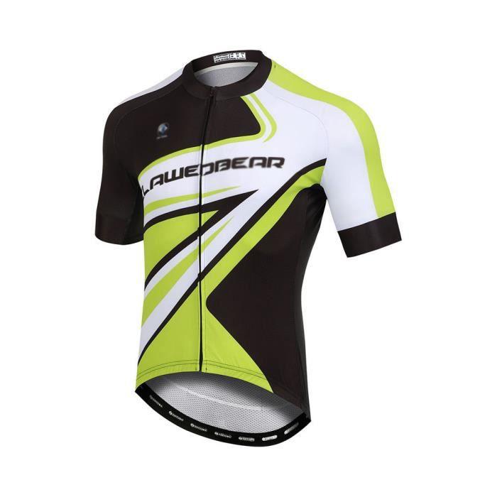 Homme Maillot de Cyclisme Manches Longues Vestes de Cyclisme + Coussin Rembourrés en Gel 3D Pantalons Vélo VTT Vêtements 1 S