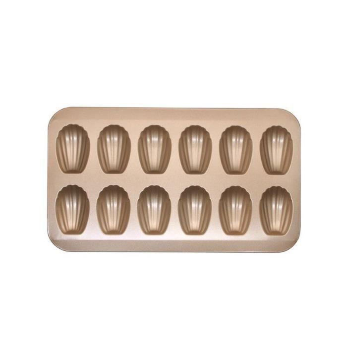 moule à madeleine antiadhésif résistant aux hautes résistant aux hautes températures moule en acier au carbone