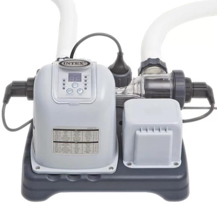 Intex Système d'eau salée Krystal Clear 28670GS