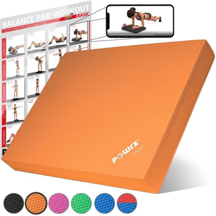 Balance Pad Deluxe différentes couleurs Couleur: Orange