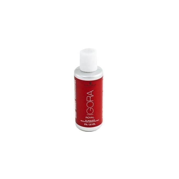 Crème Peroxyde 6% vol 20 enrichi en huile Igora de Schwarzkopf Professional 60ml