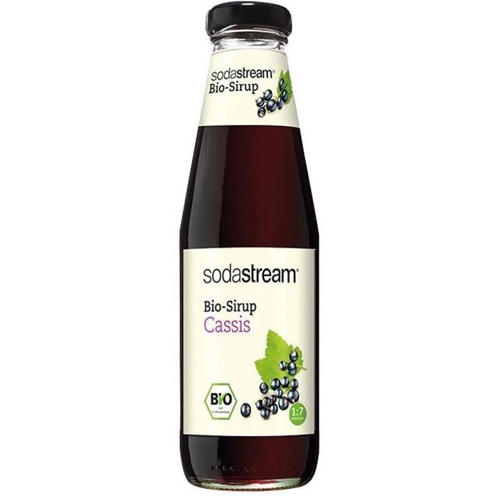 SODASTREAM 30011348 - Sirop Sodastream Bio Cassis - 500 ml
