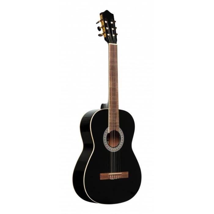 Stagg SCL60-BLK - Guitare classique SCL60 - noire