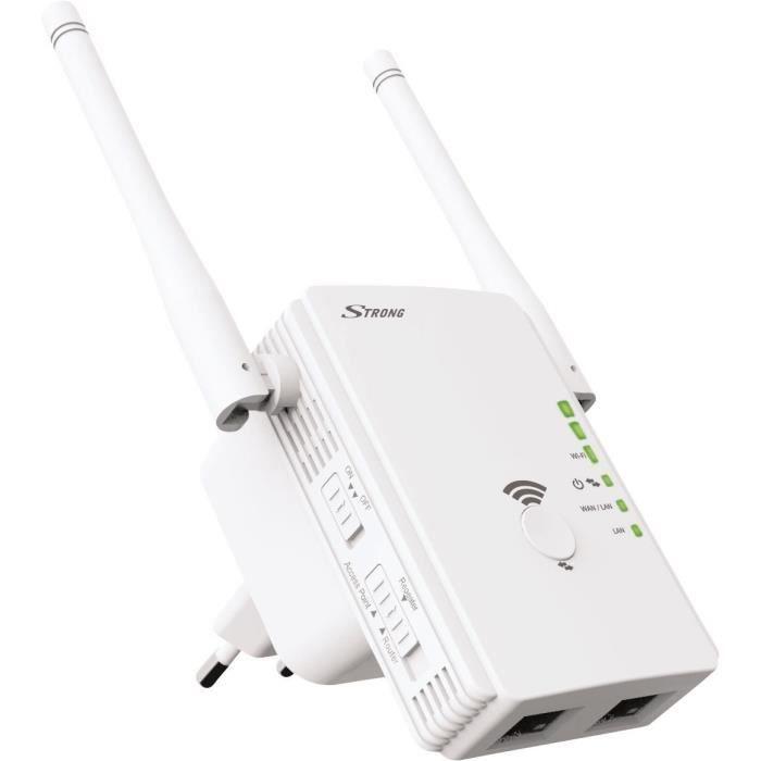 Strong Répéteur Wi Fi 300 Mbits + Point d'accès Wi Fi