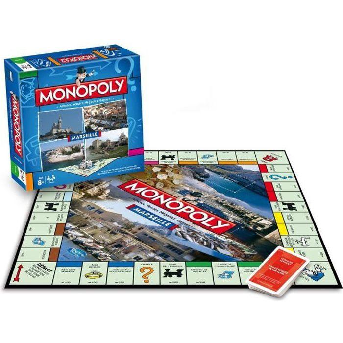 MONOPOLY Marseille - Jeu de societé - Version française