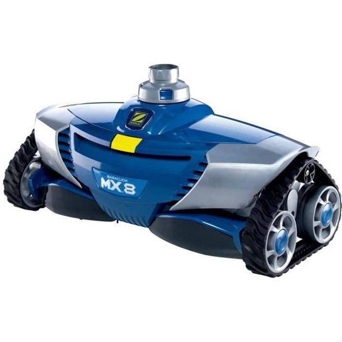 ZODIAC Robot piscine hydraulique MX8 - W70668 - Fond et Parois