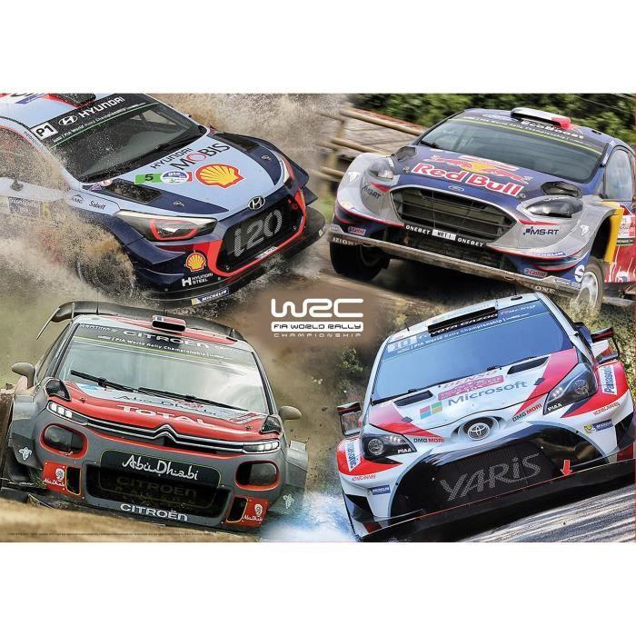 PUZZLE EDUCA Puzzle 500 WRC