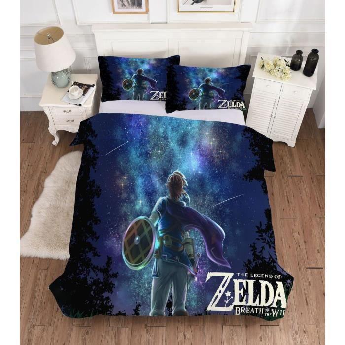 Zelda Parure De Couette 1 Housse De Couette 230 X 230 Cm