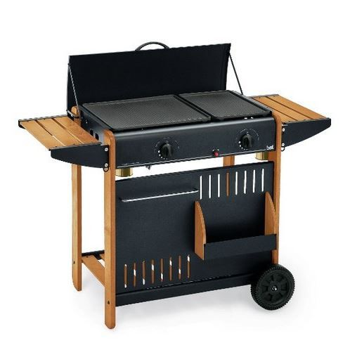 Barbecue gaz los angeles l76 x p43 x h83 cm achat vente barbecue barbec - Vente privee barbecue gaz ...