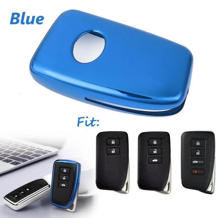 usa Votre Cover Bleu Électrique Intelligent Fortwo 450 3 Clés Pour Télécommande
