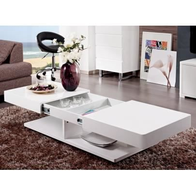 table basse avec rangement laque blanc achat vente table basse avec rangement laque blanc. Black Bedroom Furniture Sets. Home Design Ideas