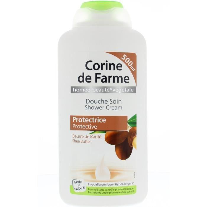 GEL - CRÈME DOUCHE CORINE DE FARME Douche soin protectrice au beurre