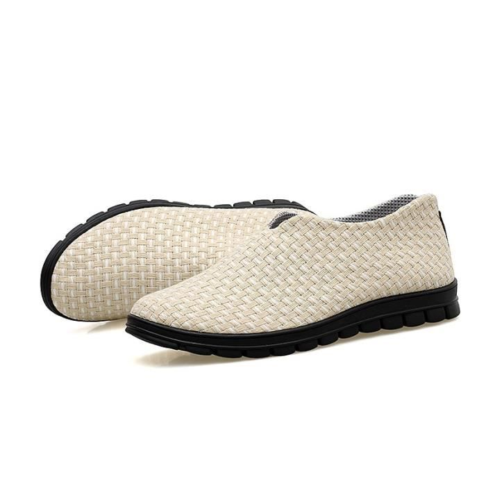 New Spring britannique Simple Flat Mocassins hommes