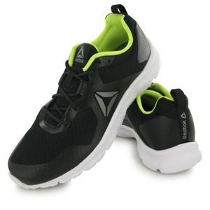 separation shoes 1a8ab c6dd2 ... CHAUSSURES DE RUNNING Reebok Run Supreme 4.0 noir, chaussures de running.  ‹›