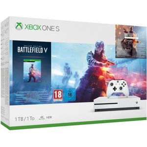 CONSOLE XBOX ONE Xbox One S 1 To + 3 Jeux : Battlefield V + Battlef