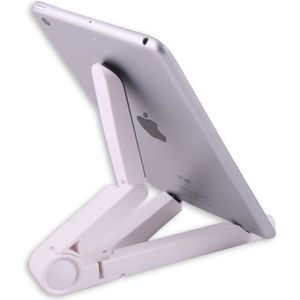 SUPPORT PC ET TABLETTE Support tablette Ipad et Samsung pliable blanc