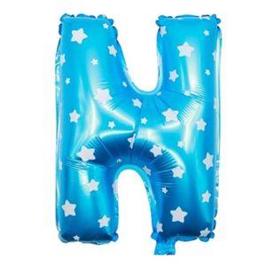 """16/"""" Grande Feuille A-Z 1-9 lettre alphabet numéro Ballon Air remplir Tout Nom Message"""