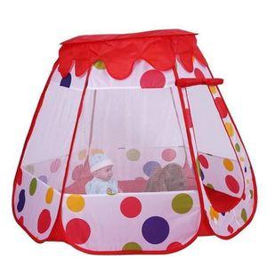 TENTE TUNNEL D'ACTIVITÉ Tente pour enfants portable pliante maison de jeu