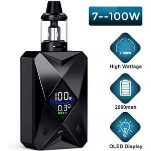 CIGARETTE ÉLECTRONIQUE Cigarette électronique 100W M6 avec ligne de donné