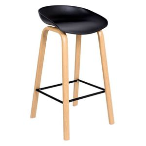 TABOURET DE BAR JOPLIN  | Tabouret de bar style scandinave 85x49x4