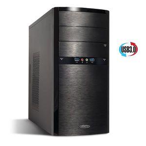 UNITÉ CENTRALE  Pc Bureau ELITE AMD Ryzen 5 1400 - Vidéo GeForce G