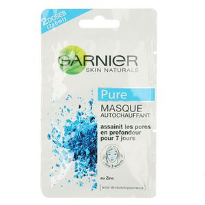 MASQUE VISAGE - PATCH GARNIER Masque autochauffant - 12ML
